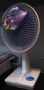 fan and air freshener